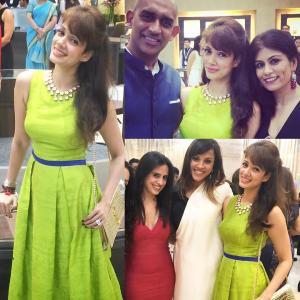 Vidya M celebrates Dussehra in style