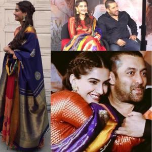 Sonam Kapoor in Gaurang Shah and Amrapali Jewels [Credits: Instagram]