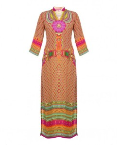 Manish Arora Pink and Green Digital Printed Suit