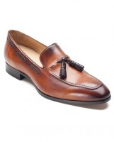 Brown Tasselled Loafers