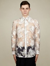 j.w. anderson lace shirt
