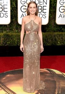 Brie Larson in custom Calvin Klein collection